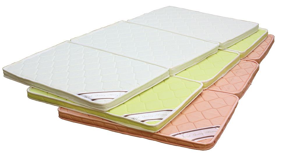 【通販 人気】 シングルベッド シンプル シングルマットレス パームマットレス パームマットレス 折りたたみ 三つ折 シンプル 送料無料 送料無料, イーライン:4c9b77c7 --- nba23.xyz