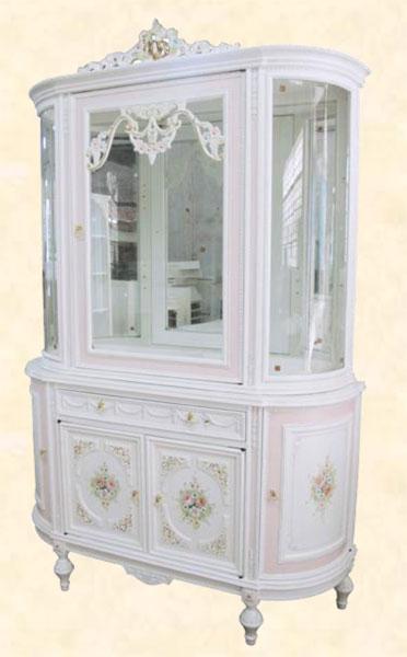 コレクションケース カップボード アンティーク 送料無料 飾り棚 飾り棚 ホワイト MDF クラシック コレクションボード ディスプレイラック ホワイト 送料無料, フェアリーチェPlus:2876d459 --- officewill.xsrv.jp
