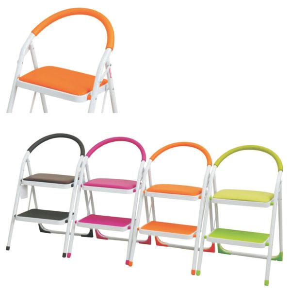 チェア ステップチェアー シンプル イス 椅子 脚立 モダン