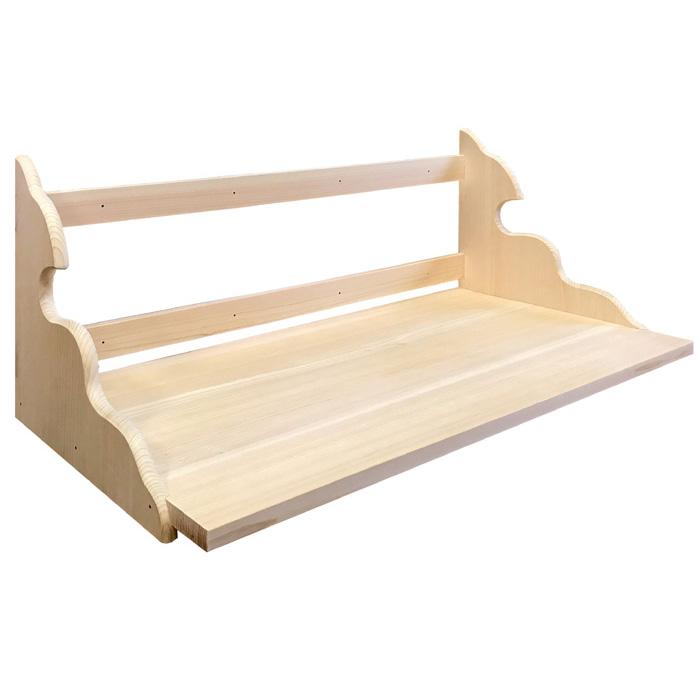 【神棚 棚板】総桧 高級神棚板/雲海900/奥行45cm/完成品