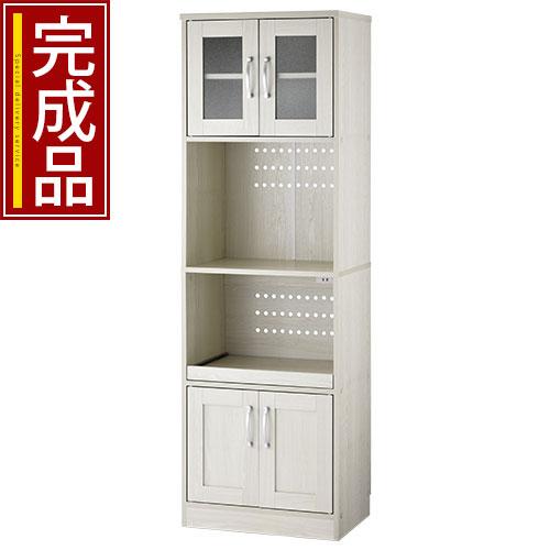 キッチン収納棚 両開き 完成品 全3色 KKANCB000010