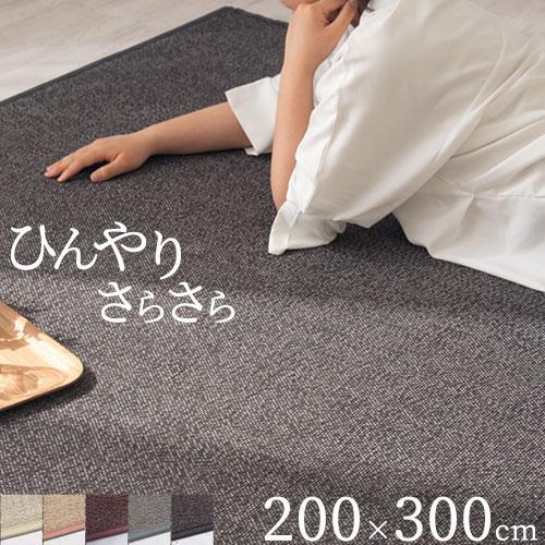 ラグ 滑り止め 竹 ラグマット カーペット 長方形 ラグカーペット carpet リビング 和風 子供部屋 rug ダイニング 敷物 涼しい さらさら 春 夏 夏用 おしゃれ 200×300cm 夏用カーペット 父の日 ふっくら 竹カーペット バンブーラグ