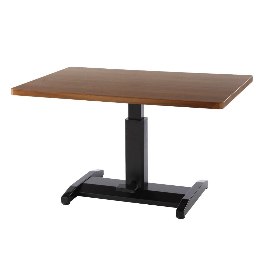 テーブル 昇降式 昇降テーブル てーぶる 木製 スチール 鏡面 長方形 リフティングテーブル 机 つくえ ガス圧 高さ調節 伸縮 ダイニングテーブル リビングテーブル カフェテーブル 昇降式テーブル ロー ハイ 北欧 おしゃれ
