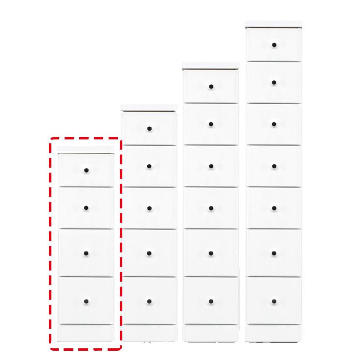 【完成品 日本製 送料無料】 隙間収納 わずかなすき間を有効活用 すきま収納 ソフィア 幅25 奥行40 高さ84.5 ホワイト リビング収納 キッチン収納