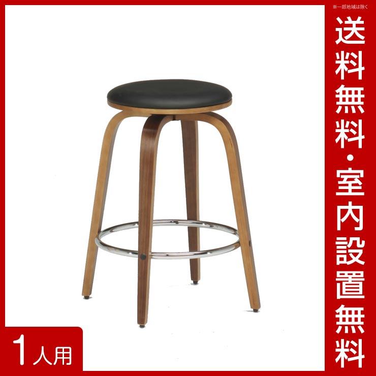 【送料無料/設置無料】 完成品 輸入品 ジュリエット1712 バーチェア ブラック 幅36.5cm 椅子 チェア ダイニングチェア カウンターチェア バーチェア おしゃれ