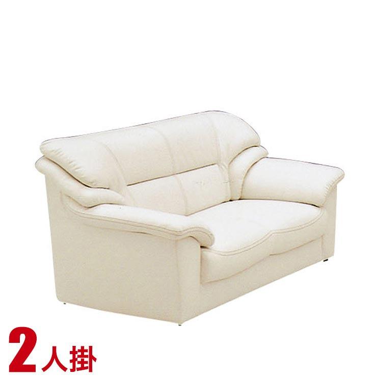 5%OFFクーポン対象+P3倍【送料無料/設置無料】 高級感のあるおしゃれなソファ ベリーII(2P)アイボリー 完成品 モダン おしゃれ シック 応接室 エレガント チェア 椅子 リビング ソファ