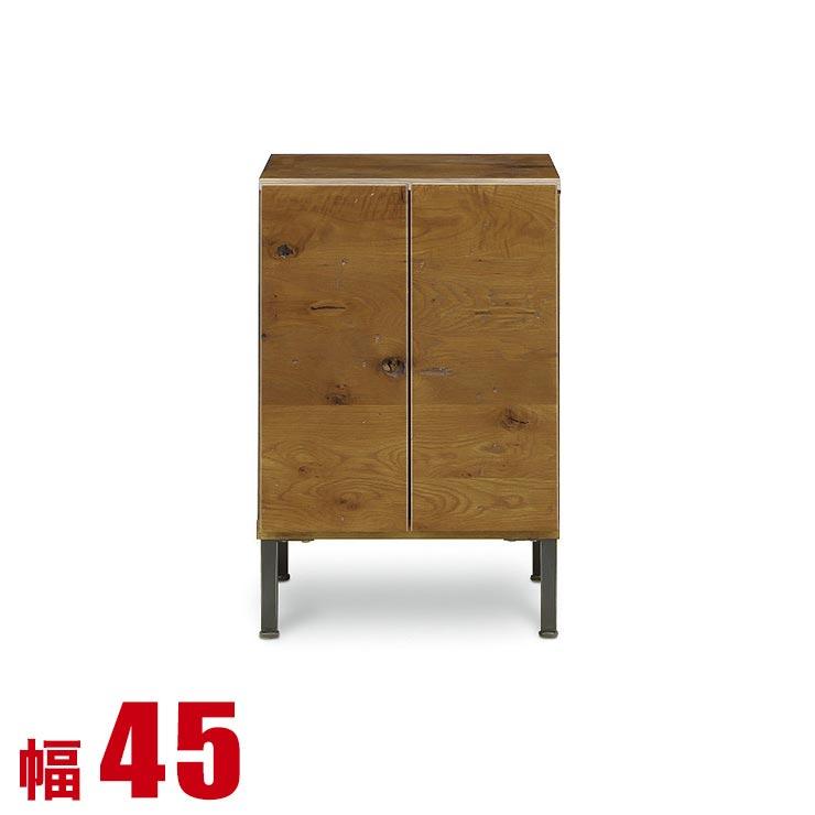 【送料無料/設置無料】 完成品 日本製 リビングキャビネット ダビンチ 開き扉タイプ 幅45