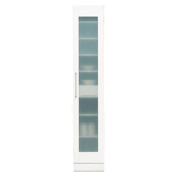 食器棚 隙間家具 スリム収納庫35cm幅 「クリスタル3」 国産送料無料