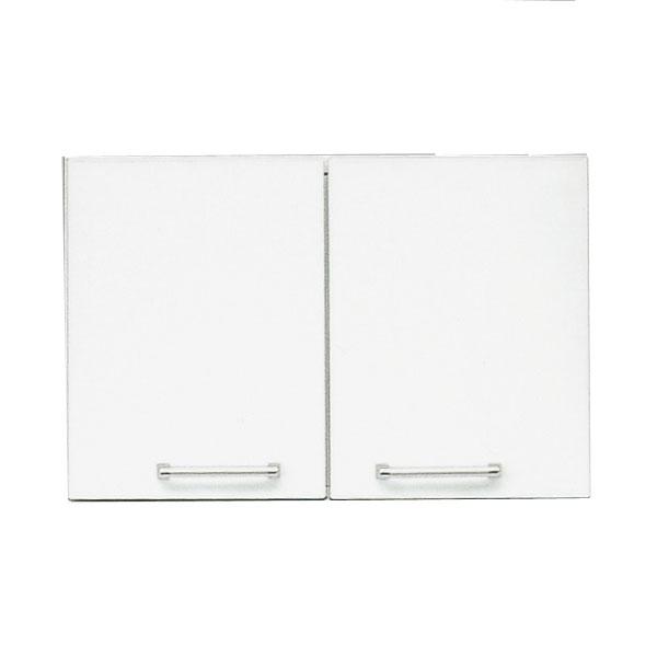 食器棚 上置き 60cm幅完成品 「クリスタル3」 国産送料無料