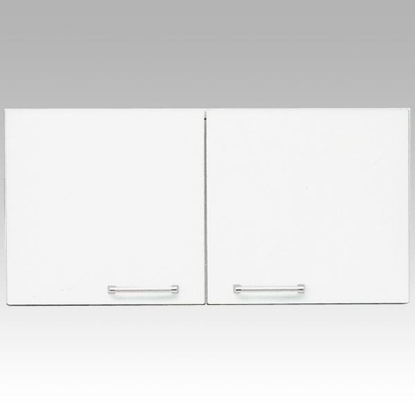 食器棚 上置き 80cm幅完成品 「クリスタル3」 国産送料無料