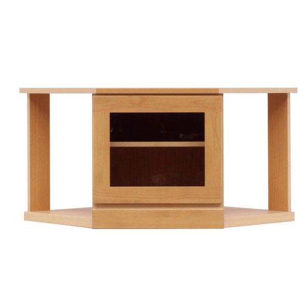 送料無料 テレビボード コーナーボード テレビ台ローボード 75cm幅 「ラブ」