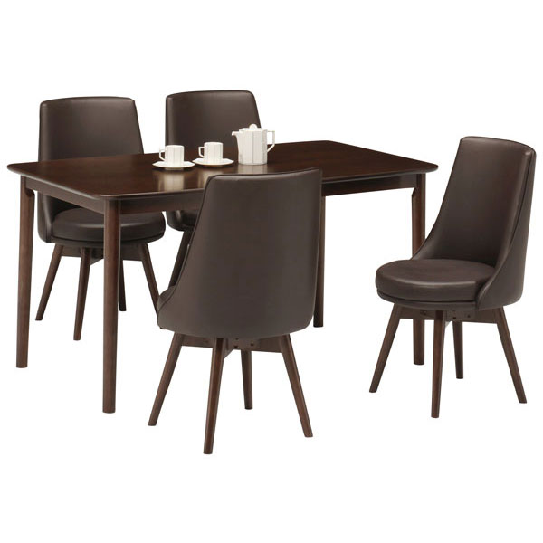 \1/1~過去最高の超ポイントSALE開催!/ 組み立てします 送料無料 開梱設置ダイニングテーブルセット 椅子カラータイプ3色ブラウン天板 5点セット4人用 テーブル「ロイズ」※椅子のブラウンは入荷未定