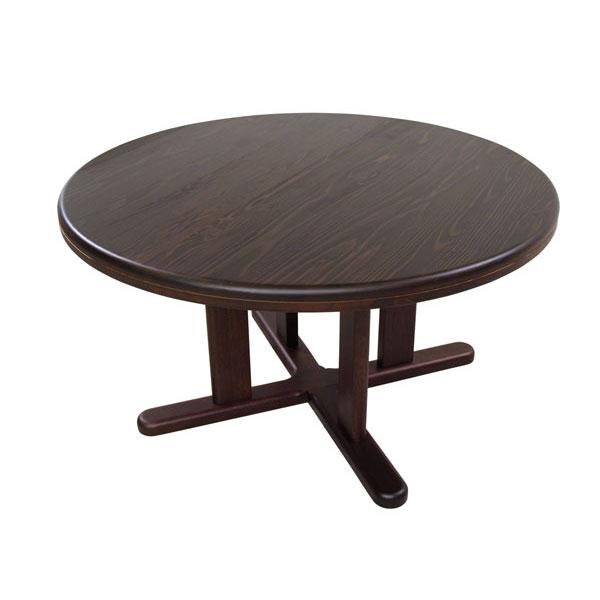 【ポイント増量&お得クーポン】 テーブル ダイニングテーブル 国産天然木 90cm幅 「ADT-266-90」丸型 開梱設置 送料無料