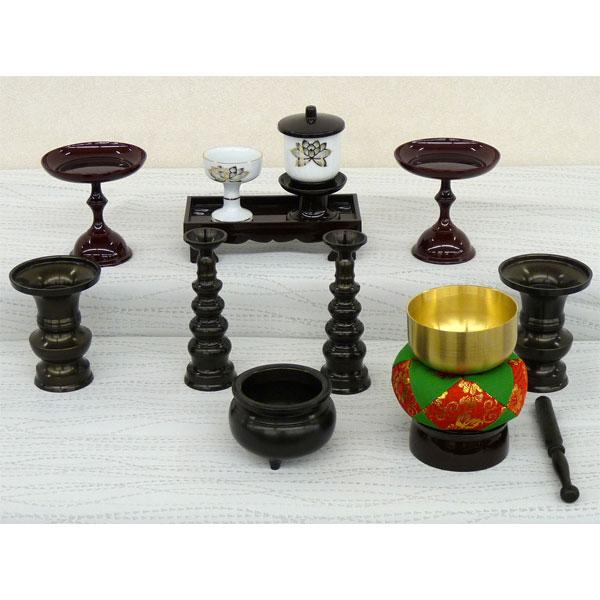 特選仏具 仏具 仏壇 上置き壇用 仏具セット