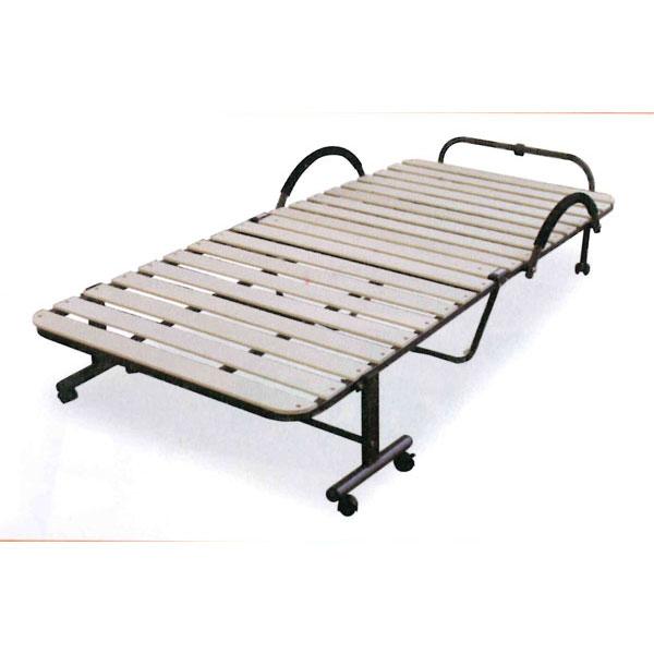 【ポイント増量&お得クーポン】 収納リクライニングベッド 折畳みベッド収納ベッド すのこタイプ KSB-290 送料無料
