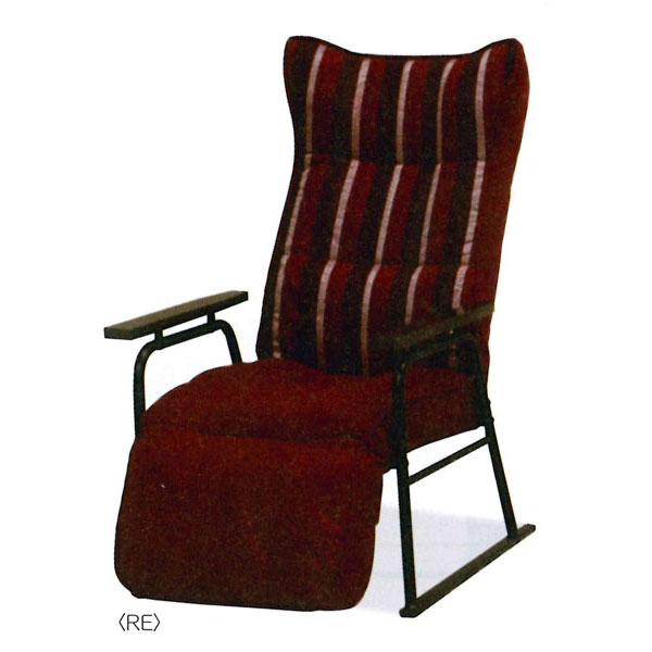 高座椅子 座イス パーソナルチェア リクライニングファブリック 布張り カラー対応3色 DY-139 送料無料