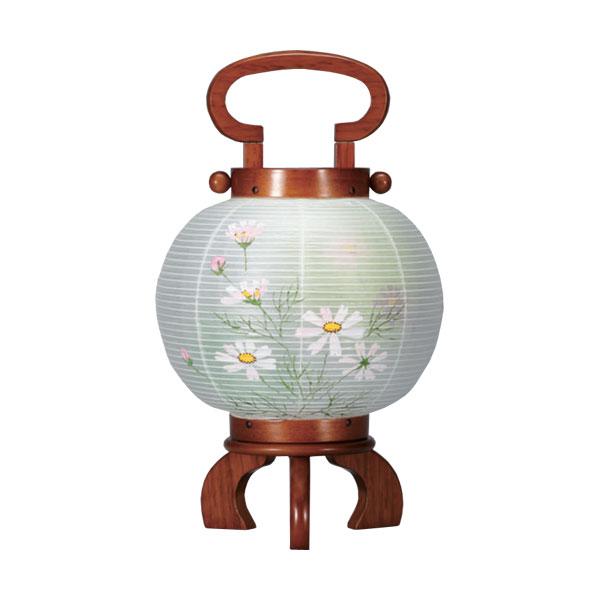 盆提灯 創作提灯 ミニ行灯「豆あかり」 (電気コード式) 8720-06-496