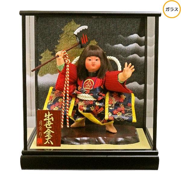 わらべ人形 ケース飾り 五月人形 五月飾り童人形 節句人形 端午の節句 6号 出世金太