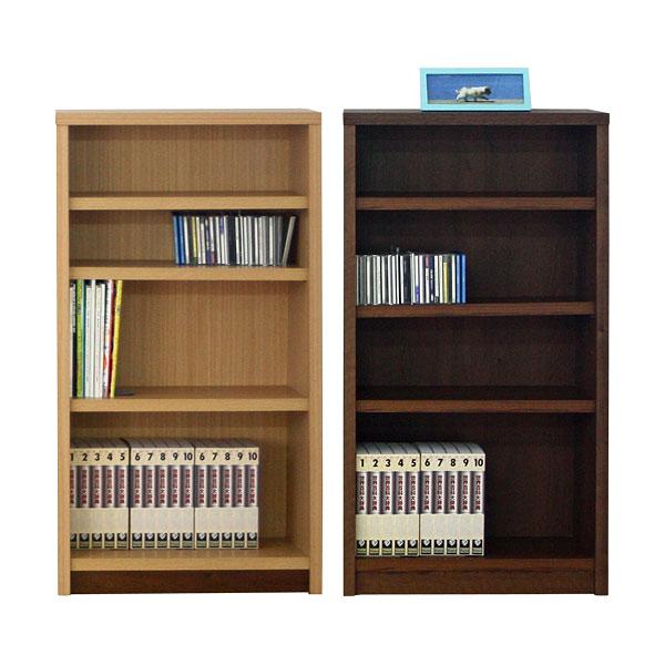 本棚 書棚 ブックシェルフ コミックシェルフミドルタイプ 日本製 70cm幅 2色対応 イフ【代引不可商】