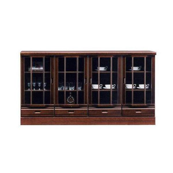 サイドボード 180cm幅キャビネット 国産飾り棚 完成品送料無料 開梱設置