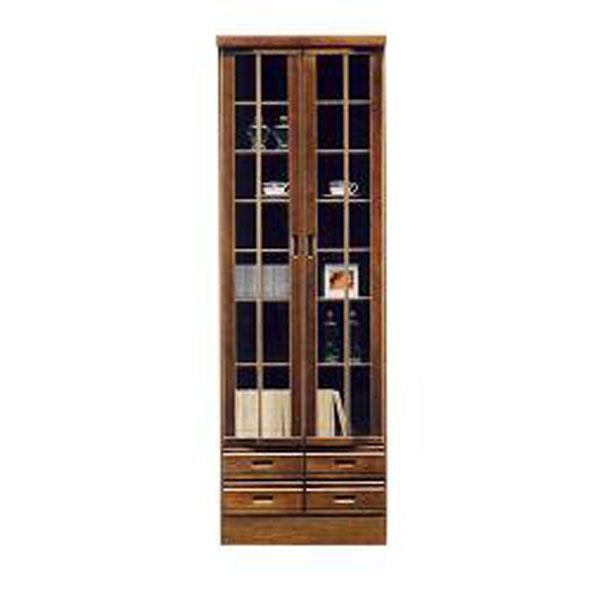 【4/9~ポイント増量&お得クーポン】 送料無料 開梱設置本棚 書棚 フリーボード 60cm幅完成品 国産 開き戸