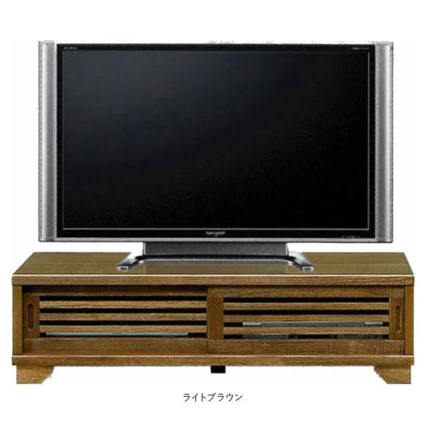 【4/9~ポイント増量&お得クーポン】 テレビボード TVボード 完成品国産 ロータイプ 引き戸120cm幅 送料無料