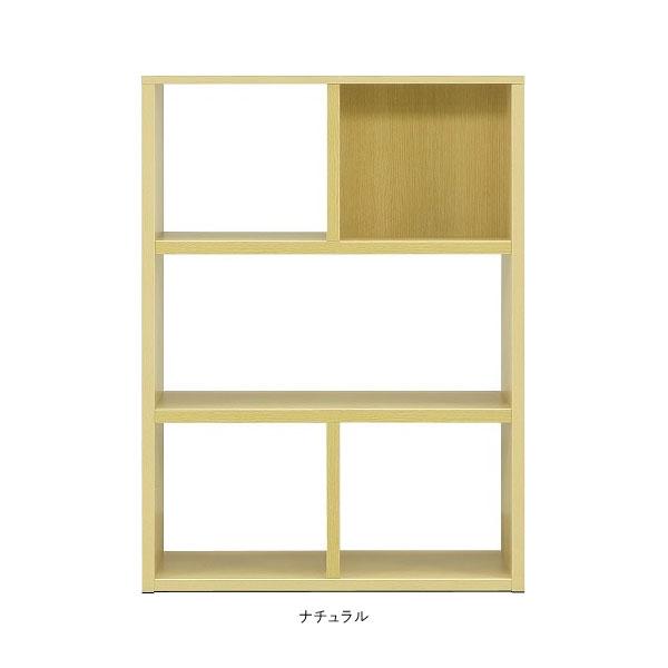 本棚 書棚 90cm幅 オープンタイプ 壁無完成品 国産 送料無料