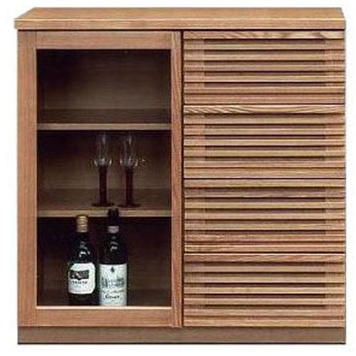 サイドボード 90cm幅 キャビネット 完成品 和風 飾り棚 完成品送料無料