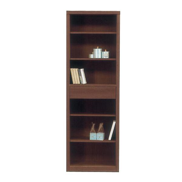 本棚 書棚 60cm幅 完成品国産 ブックシェルフ送料無料