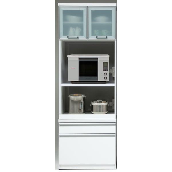 食器棚 完成品 レンジボード国産 70cm幅 「ヘネシー」開梱設置 送料無料