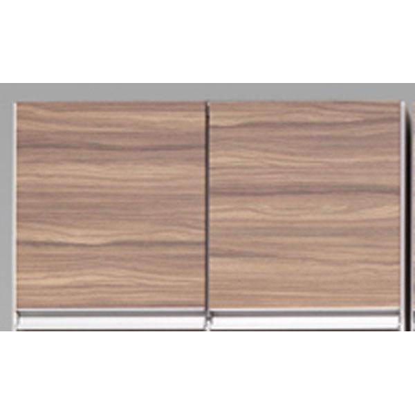 受注生産品 食器棚上置き 開き戸完成品 60cm幅送料無料 高さオーダー 「プリエ」