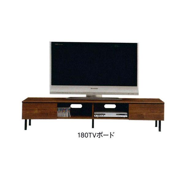 日本製 国産 テレビボード TVボード テレビ台ローボード 2色対応 180cm幅「ラナ」 送料無料
