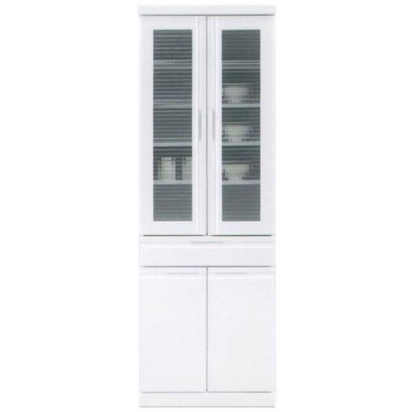ダイニングボード 食器棚「アクア」 60cm幅 ホワイト開梱設置送料無料
