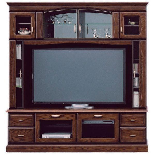 テレビボード TVボード テレビ台 ハイタイプ 完成品 180cm幅「バーボン」 開梱設置 送料無料