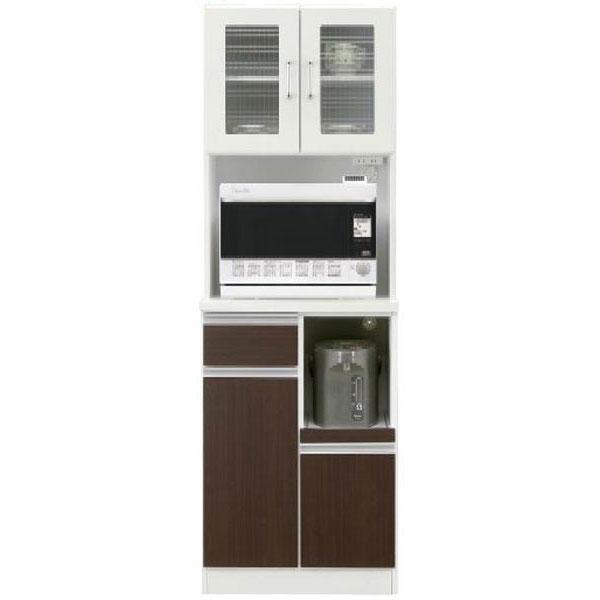 レンジボード オープン食器棚「クーパー」 60cm幅 カラー対応2色開梱設置送料無料