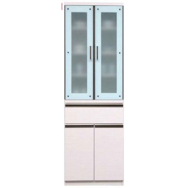 【4/9~ポイント増量&お得クーポン】 キッチンボード ダイニングボード 食器棚「ダラス」 60cm幅 2色対応 開梱設置送料無料