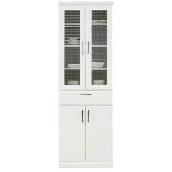 ダイニングボード 食器棚「パーカー」 60cm幅 ホワイト開梱設置送料無料