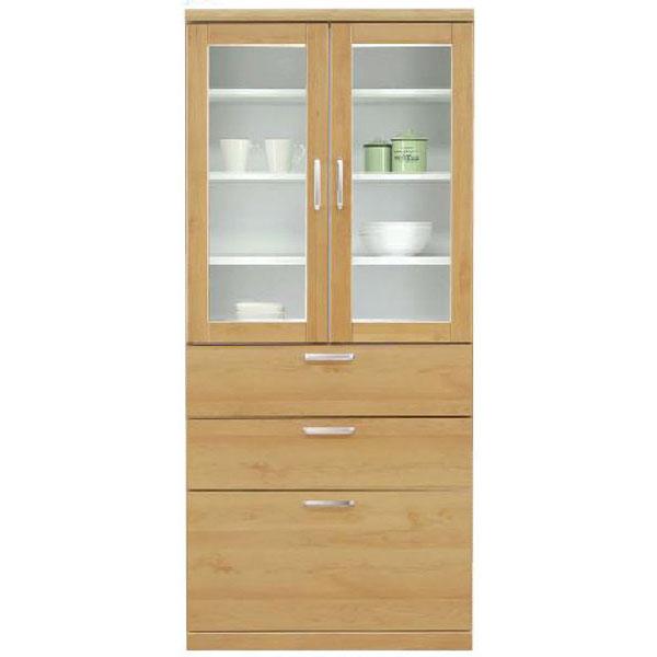 ダイニングボード 食器棚「トスティ」 80cm幅 カラー対応2色開梱設置送料無料