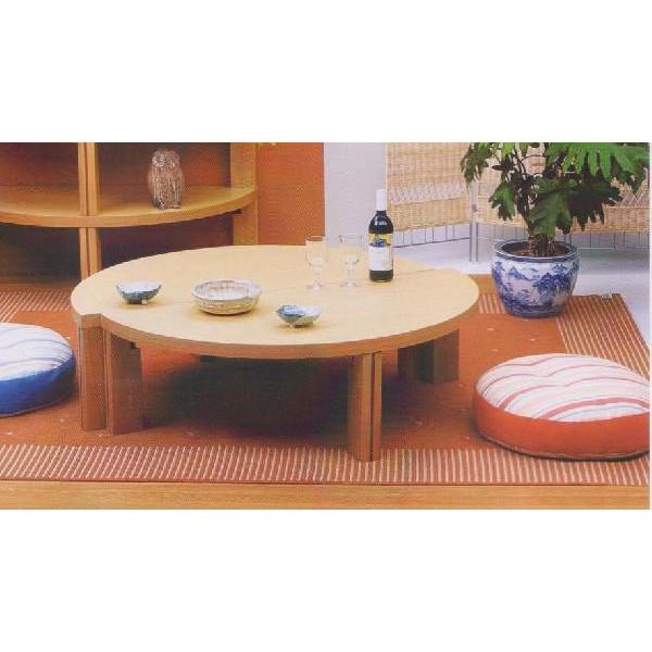 【ポイント増量&お得クーポン】 座卓 テーブル 120cn幅国産 折れ脚 2色対応 「ツイン」 送料無料