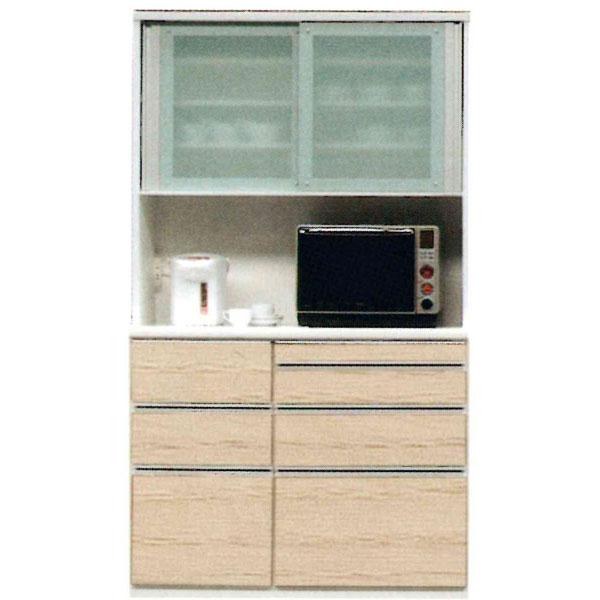 食器棚 レンジボード 120cm幅国産 開梱設置 送料無料 受注生産品