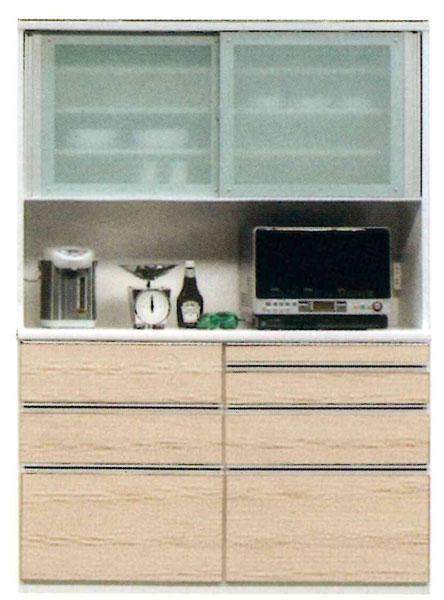 食器棚 150cm幅 レンジボード 国産 開梱設置 送料無料 受注生産品