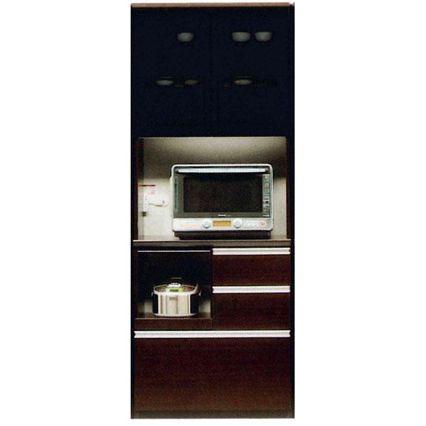 【4/9~ポイント増量&お得クーポン】 食器棚 開き戸 完成品レンジボード 国産80cm幅 開梱設置 送料無料