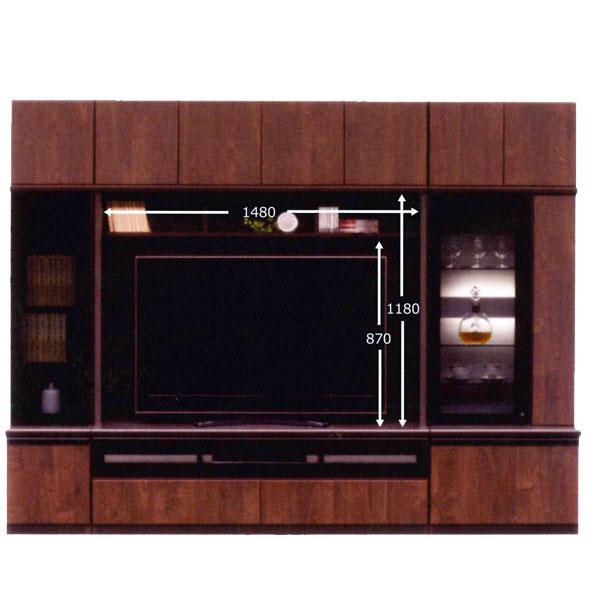 テレビボード 270cm幅 キャビネット2台付き 上置き3点付 TVボード テレビ台国産 開梱設置