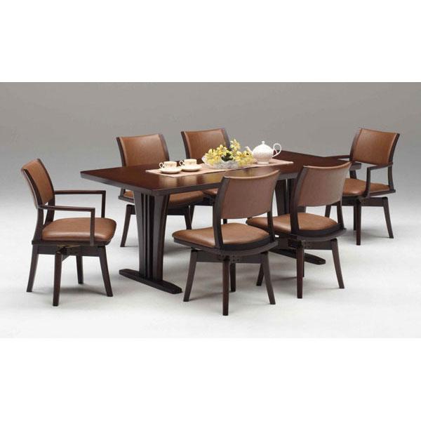 【ポイント増量&クーポン】 ダイニングセット 7点セット6人掛け テーブル180cm幅テーブルT脚 組み立てします 送料無料 開梱設置ダイニングテーブルセット