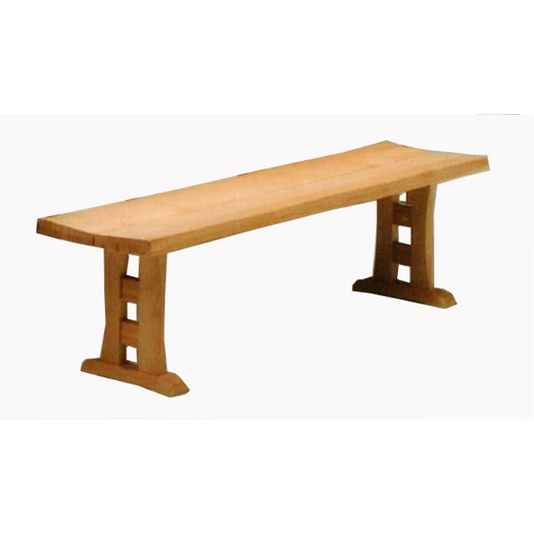【ポイント増量&お得クーポン】 ダイニングチェアー 天然木ベンチ 160cm 椅子送料無料