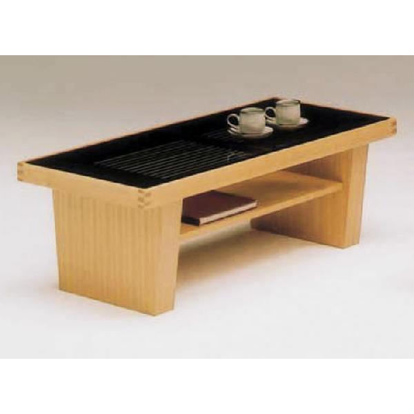 【ポイント増量&お得クーポン】 センターテーブル 110cm幅 強化ガラス