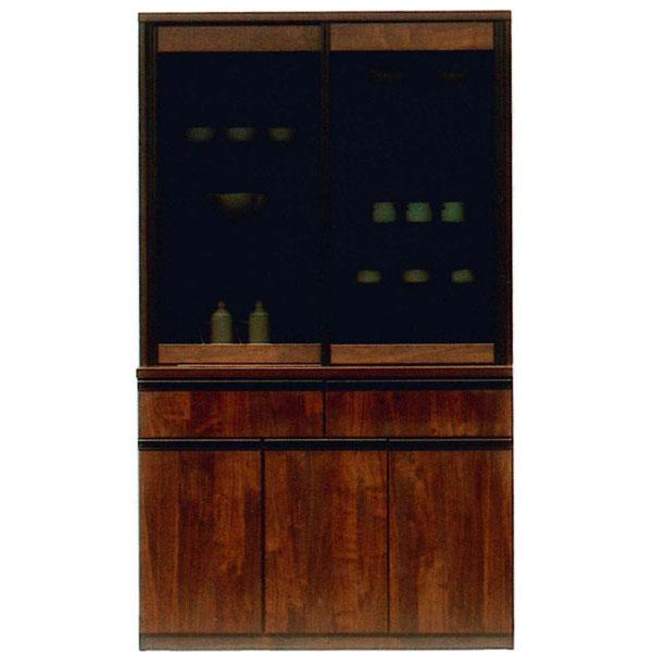 食器棚 120cm幅 引き戸 ダイニングボード 国産開梱設置 送料無料