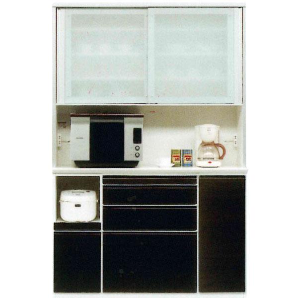 レンジボード 140cm幅 受注生産品 高さ175cm国産 引き戸 キッチン収納開梱設置 送料無料