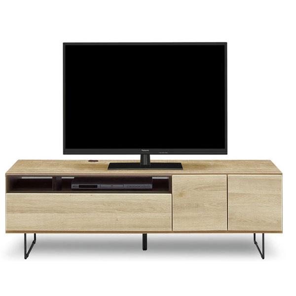 テレビボード ローボード 完成品150cm幅 「もく」カラー対応2色 送料無料 開梱設置