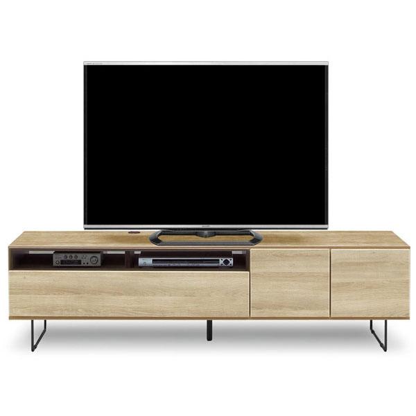 テレビボード ローボード 完成品180cm幅 「もく」カラー対応2色 送料無料 開梱設置